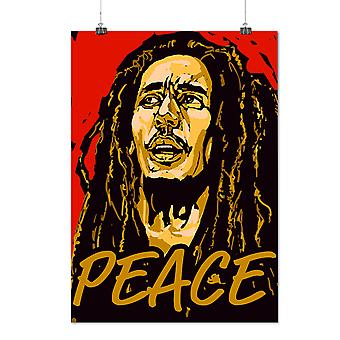 Matte or Glossy Poster with Celebrity Marley Peace | Wellcoda | *q1465