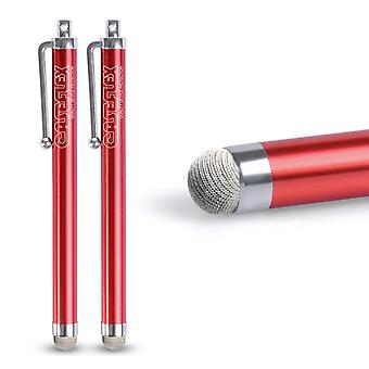 Caseflex Stylus Pen - Red (Twin Pack)