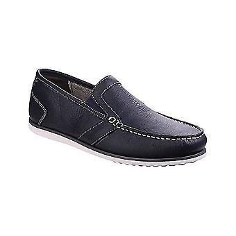 Hush Puppies Jay Portland Mens Slip On Smart Moccasin Shoes