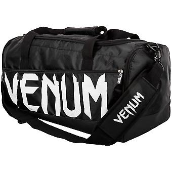 Venum Sparring Sports Gym Bag - Black White