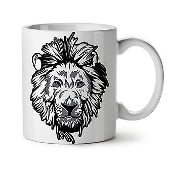 Lion Beast Calm Animal NEW White Tea Coffee Ceramic Mug 11 oz | Wellcoda
