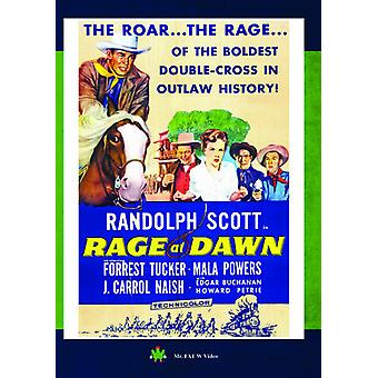 Rage at Dawn [DVD] USA import