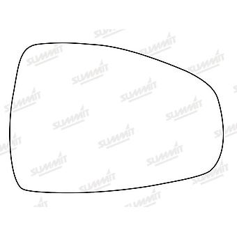 Right Stick-On Mirror Glass Easy to Fit For Audi A1 2010-2019