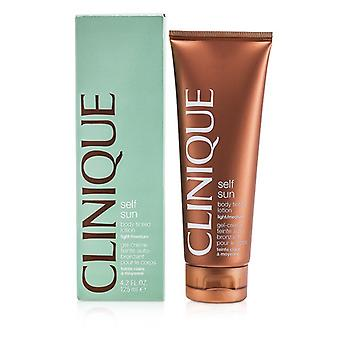 Clinique Self-Sun Body Tinted Lotion - Light/ Medium 125ml/4.2oz