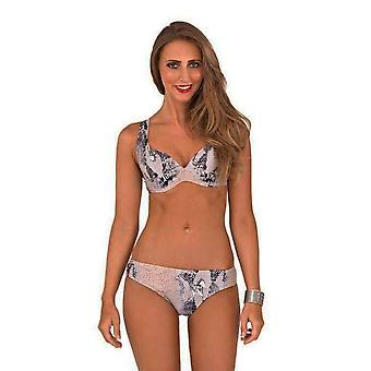 Boutique Ladies Matallic  Glimmering Bikini Set
