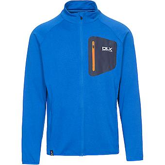 Trespass Mens Colson Polyester Quickdry Antibacterial Full Zip DLX Top