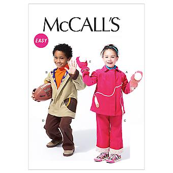 Toddlers'/Children's Lined Jackets, Pants and Mittens-1-2-3-4 -*SEWING PATTERN*