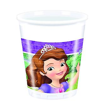 Sofia the first Mystic Isles Princess party Cup drinking cups 200ml 8 piece children birthday theme party