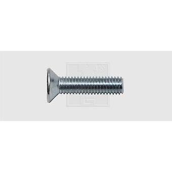 SWG Shoulder screw set M5 50 mm Phillips DIN 965 Steel zinc plated 100 pc(s)
