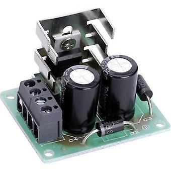 Conrad komponenter spänning fördubbling DC-DC omvandlare styrelsen PCB montering kit