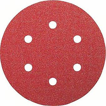 Router sandpaper Hook-and-loop-backed, Punched Grit size 120 (Ø