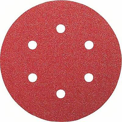 Bosch Accessories Best for Wood 2608607837 Router sandpaper Hook-and-loop-backed, Punched Grit size 120 (Ø) 150 mm 50 p