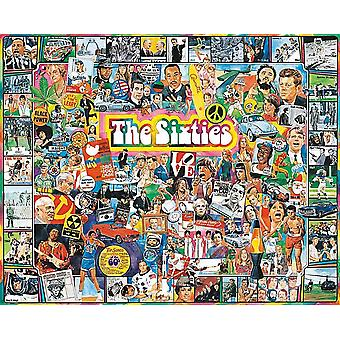 The Sixties 1000 Piece Jigsaw Puzzle 760Mm X 610Mm