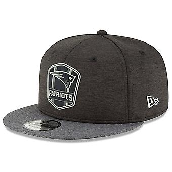 New Era Snapback Cap - Black Sideline New England Patriots