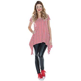 Striped tunic women's Halloween costume Carnival