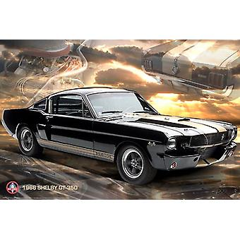 Ford Shelby Mustang 66 GT350 Poster Poster afdrukken