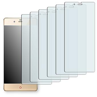 ZTE Nubia Z9 elite screen protector - Golebo Semimatt protector (deliberately smaller than the display, as this is arched)