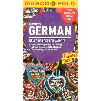 German Marco Polo Phrasebook by Marco Polo