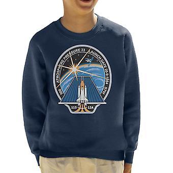 NASA STS 115 Space Shuttle Atlantis Mission Patch Kid's Sweatshirt