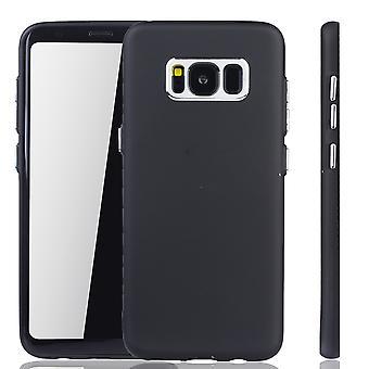 Samsung Galaxy S8 cas - cas de téléphone portable pour Samsung Galaxy S8 - mobile en noir