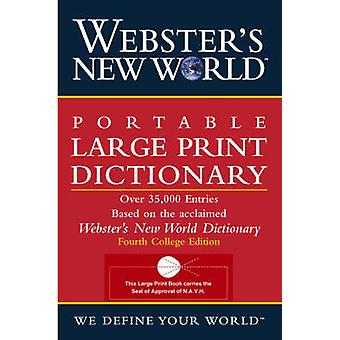 Webster's New World Portable Large Print Dictionary (Large type editi