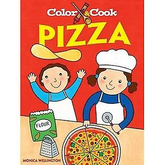 Färg & laga Pizza (Dover målarbok)