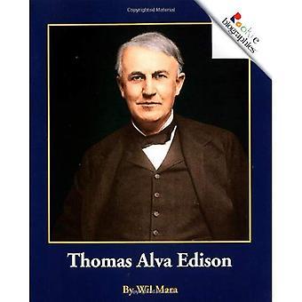 Thomas Alva Edison (Rookie Biographies)
