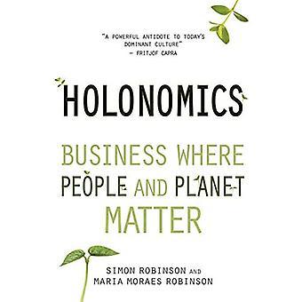 Holonomics: Entreprise où les gens et la planète importance