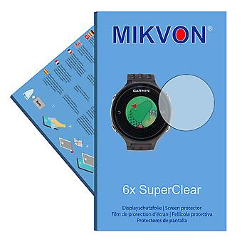 Garmin Approach S6 screen protector- Mikvon films SuperClear