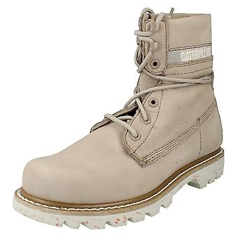 75bf28ba Ladies Caterpillar Lace Up Casual Boots Colorado Slouch P307610