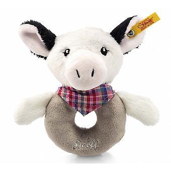 Steiff Cowaloo cow rattle 12 cm