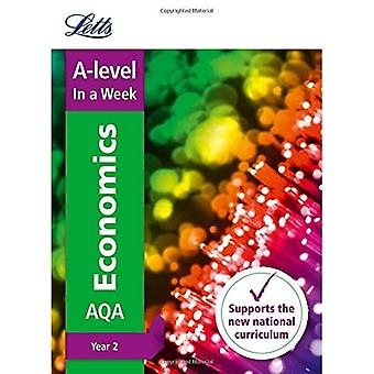 Letts A-level Revision Success - A-level Economics� Year 2 In a Week (Letts A-level Revision Success)