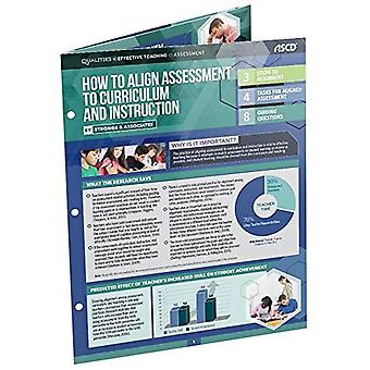 How to Align Assessment to� Curriculum and Instruction (Qualities of Effective Teaching)