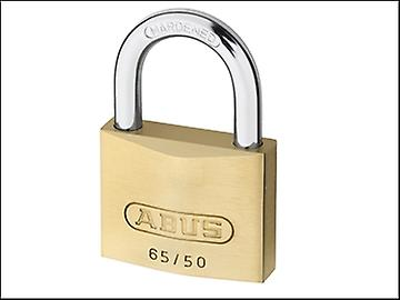 ABUS 65/50 50mm Brass Padlock Keyed 504