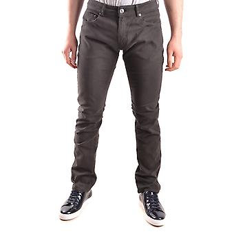 Pt05 Grey Cotton Jeans