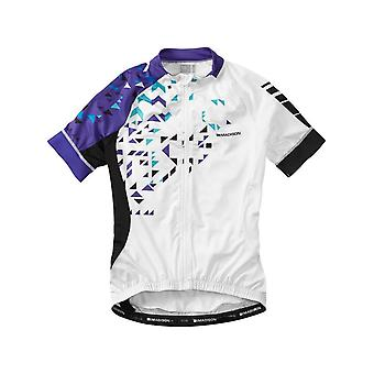 Madison White-Purple Reign 2016 Sportive Womens Short Sleeved Cycling Jersey