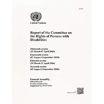 Report of the Committee on the Rights of Persons with Disabilities - T