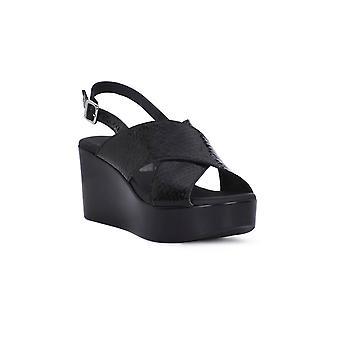 Frau Piper Black Sandals