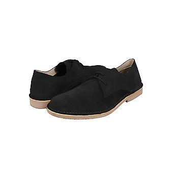 Black SUEDE Desert Shoe