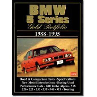 BMW 5 Series Gold Portfolio1988-95 - Collection of Contemporary Road T