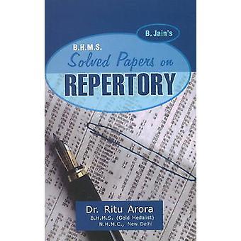 BHMS Solved Papers in Repertory by Arora Ritu - 9788131905210 Book