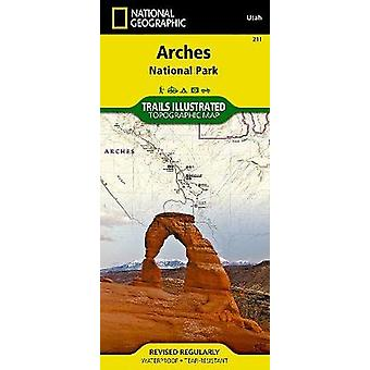 Arches National Park  Trails Illustrated National Parks by National Geographic Maps