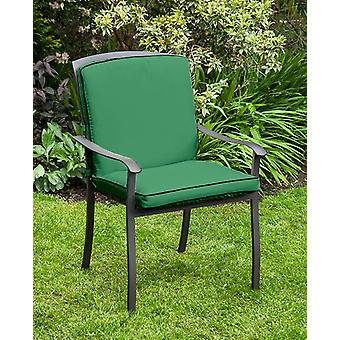 Gardenista® Green Water Resistant Seat Pad for Homebase Lucca Chair
