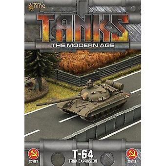 Tanks Skirmish Game The Modern Age Sov T-64 Expansion Pack