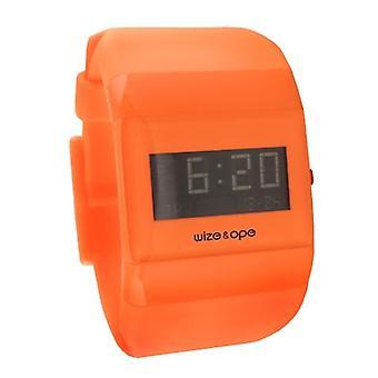 Wize et OPE Classic orange Digital Watch WO-ALL-12