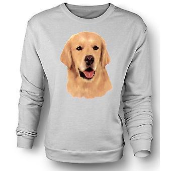 Womens Sweatshirt Golden Retreiver - huisdier hond