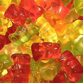 3 Bags of 180g Bag of Fruit Flavoured  Jelly Teddy Bears Gummies