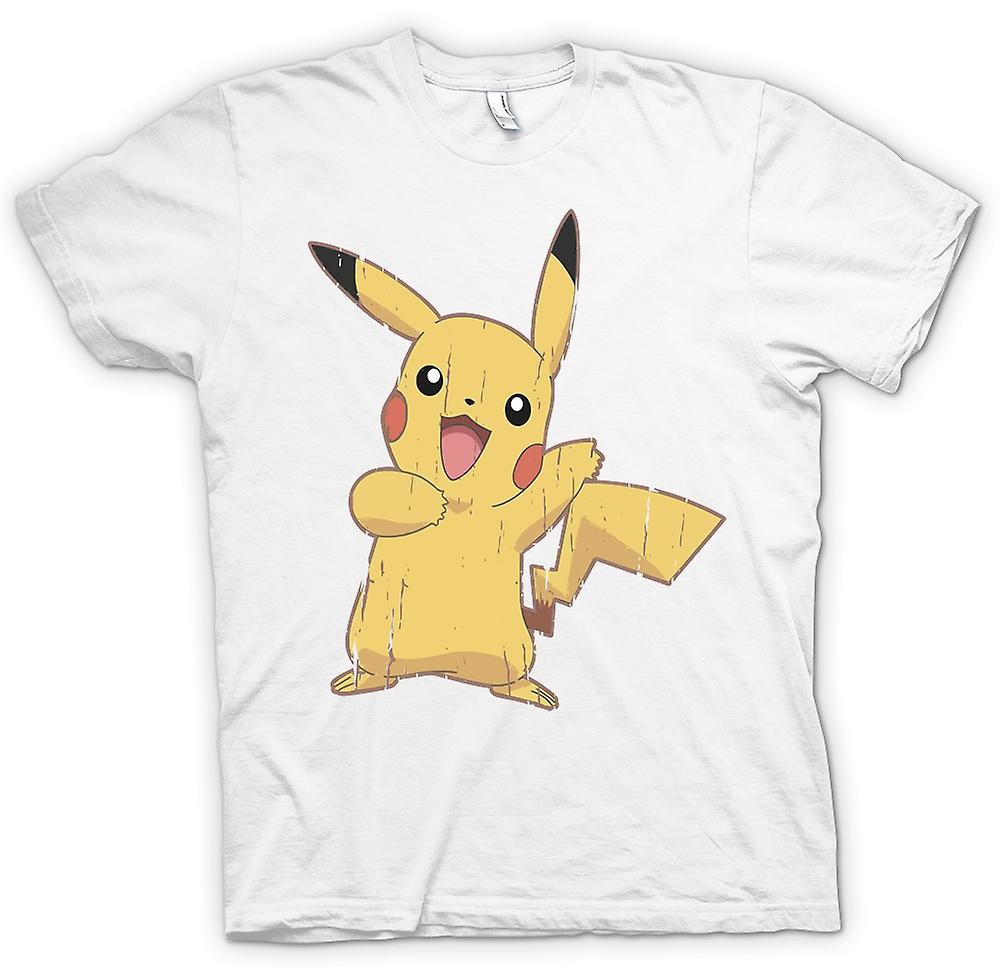 Womens T-shirt - Pikachu - Cool Pokemon inspirerad