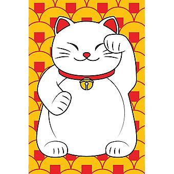 Poster-Lucky Cat 36x24