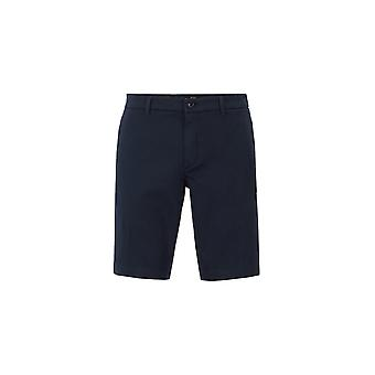 BOSS Athleisure Boss Liem 4 Slim Fit Tailored Shorts Navy